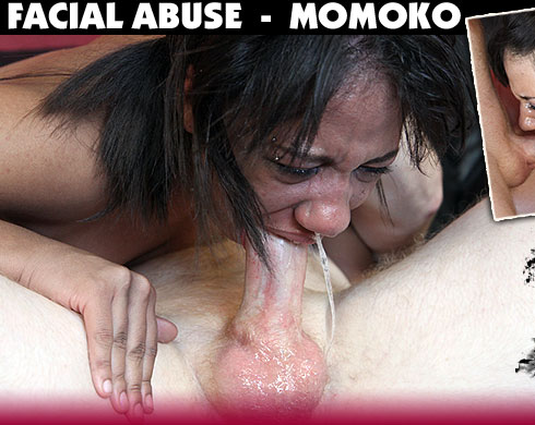 Momoko Destroyed On Facial Abuse